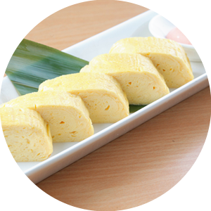 Dashimaki Tamago with Mentaiko Mayo